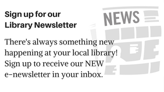 The library is now offering a new e-newsletter.  Call 845-3601 for more information.